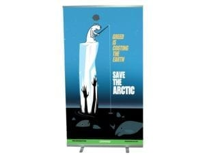 1000mm wide roller banner