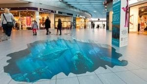 3D Floor Graphic