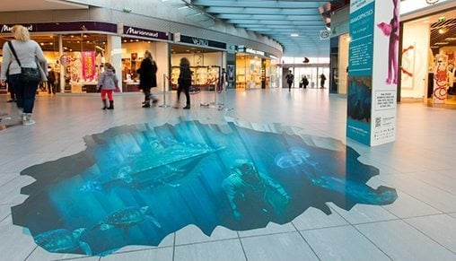 Standard Printed Floor Graphics Trade From 2395 Sqm