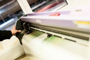 Trade banner printing