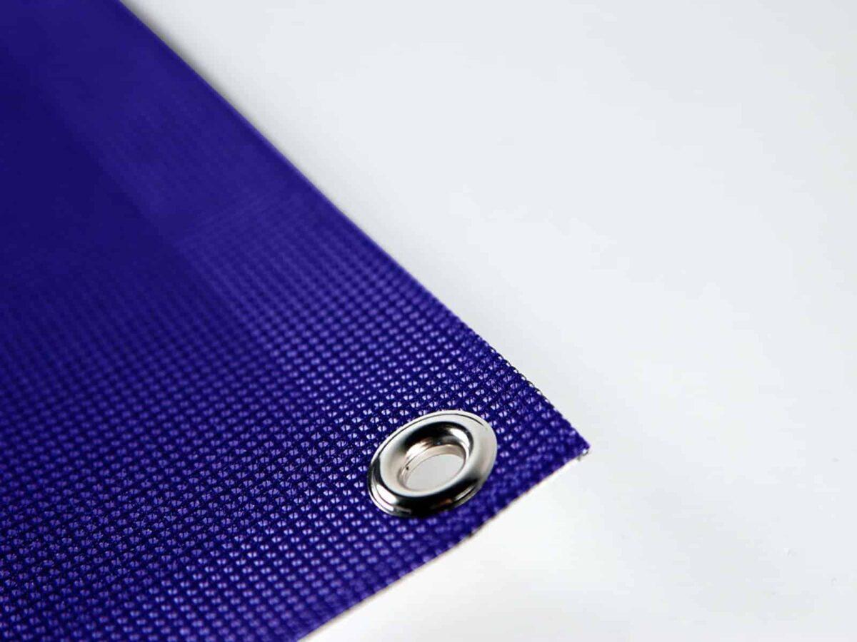 PVC mesh with eyelet