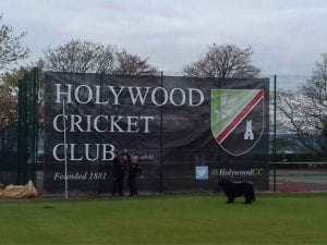 Cricket Club Mesh Banner
