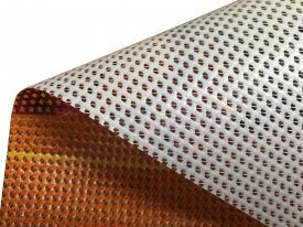 Mesh PVC Close Up