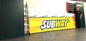 Subway Dibond Panels