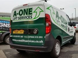 Lift Services Van Wrap
