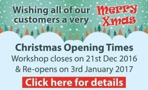 Xmas Opening Times 2016