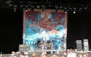 Stage and band backdrops