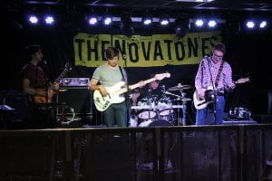 The Novatones Stage Backdrop