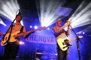The Novatones Stage Backdrop