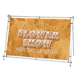 Outdoor banner stand HD