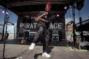 Pirate Stage Sound City liverpool festival backdrop
