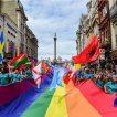 Pride London Crowd Banner
