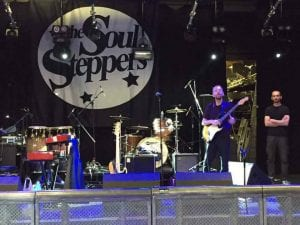 Soul Steppers Stage Backdrop
