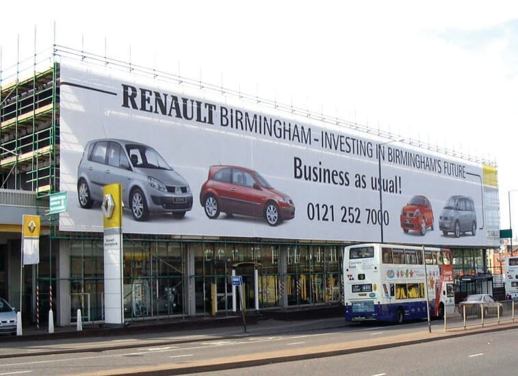 Building wrap mesh banners trade pricing from sqm for House wrap prices