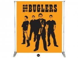 Band Banner Stand
