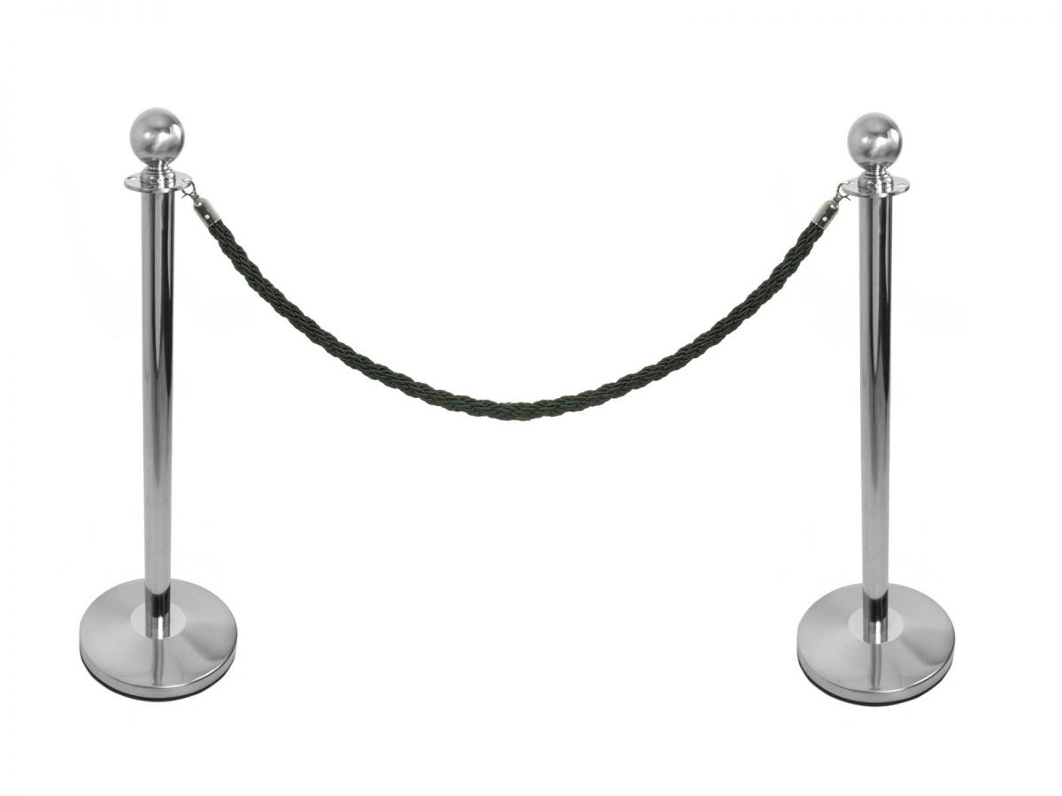 Blue Rope Barrier