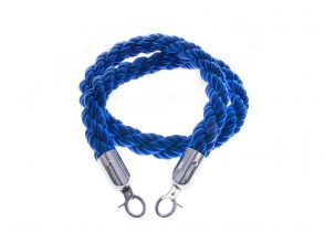 Blue Rope Barrier 1.5m