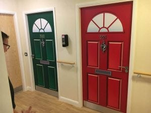 Dementia Friendly Door Wraps