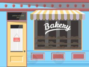 Bakery Dementia Walll Mural