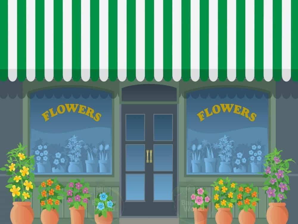 Florists Dementia Wall Murals