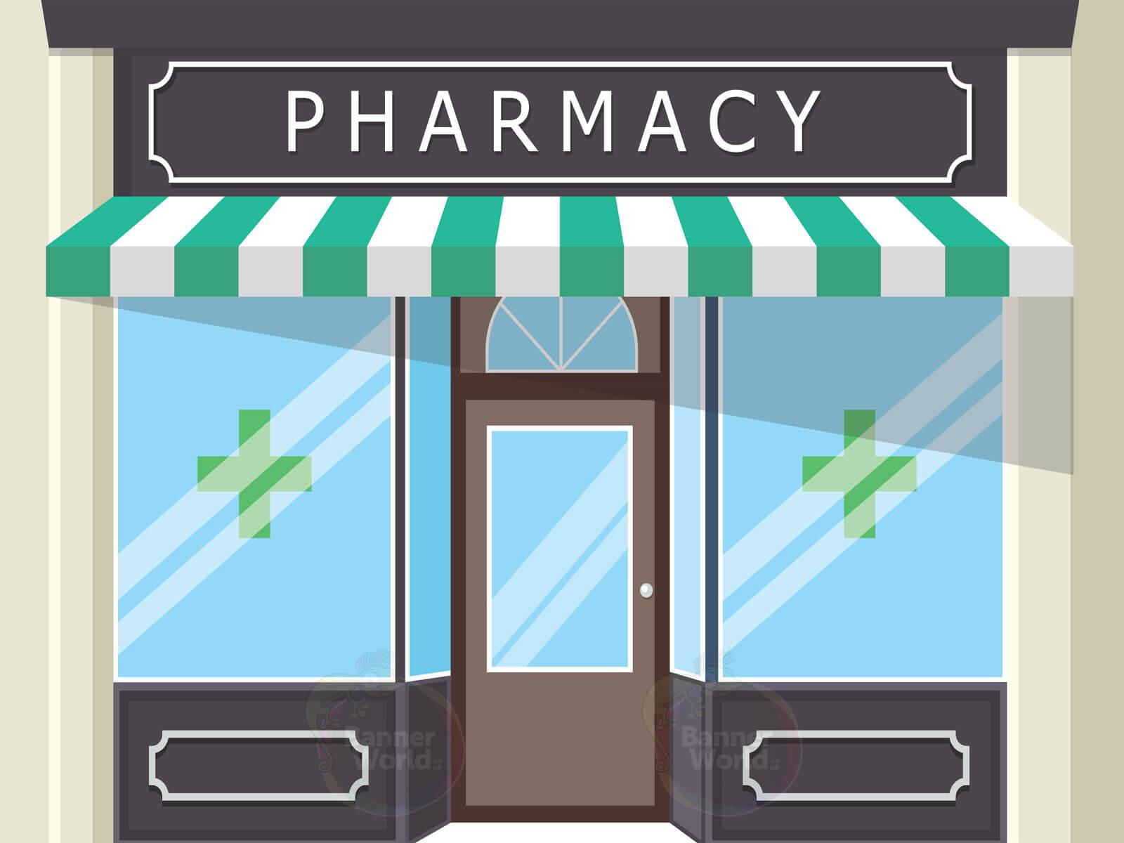 Pharmacy Dementia Wall Mural