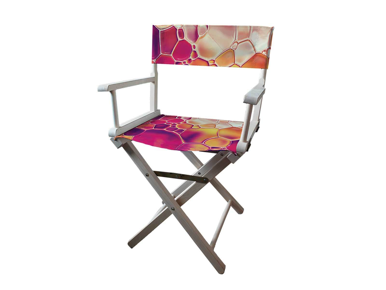 Personalised Directors Chair Full Colour Printed From