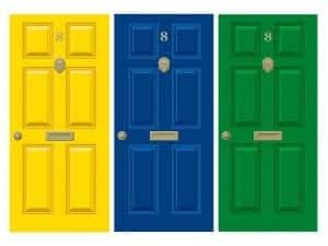 Old Style Dementia Door Wraps