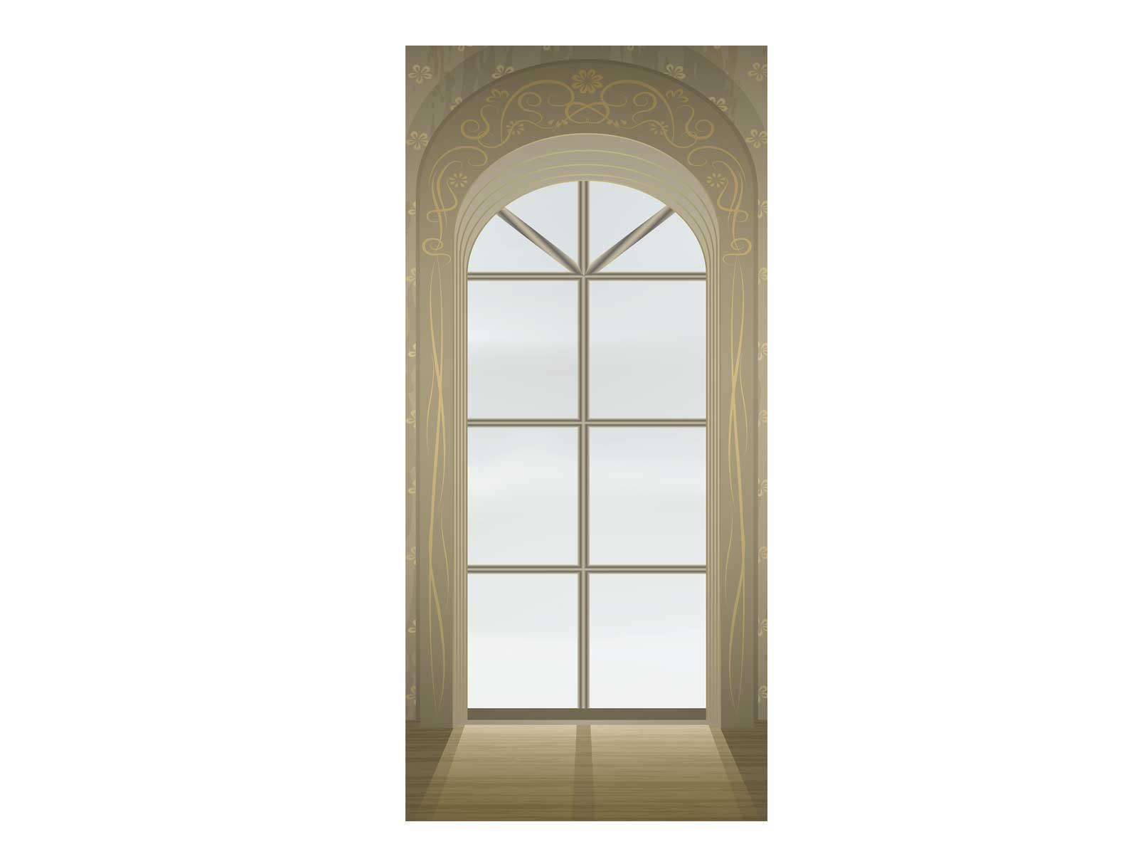 Window Exit Diversion Door Wrap