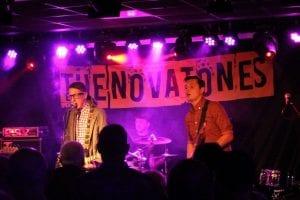 The Novatones Band Backdrop