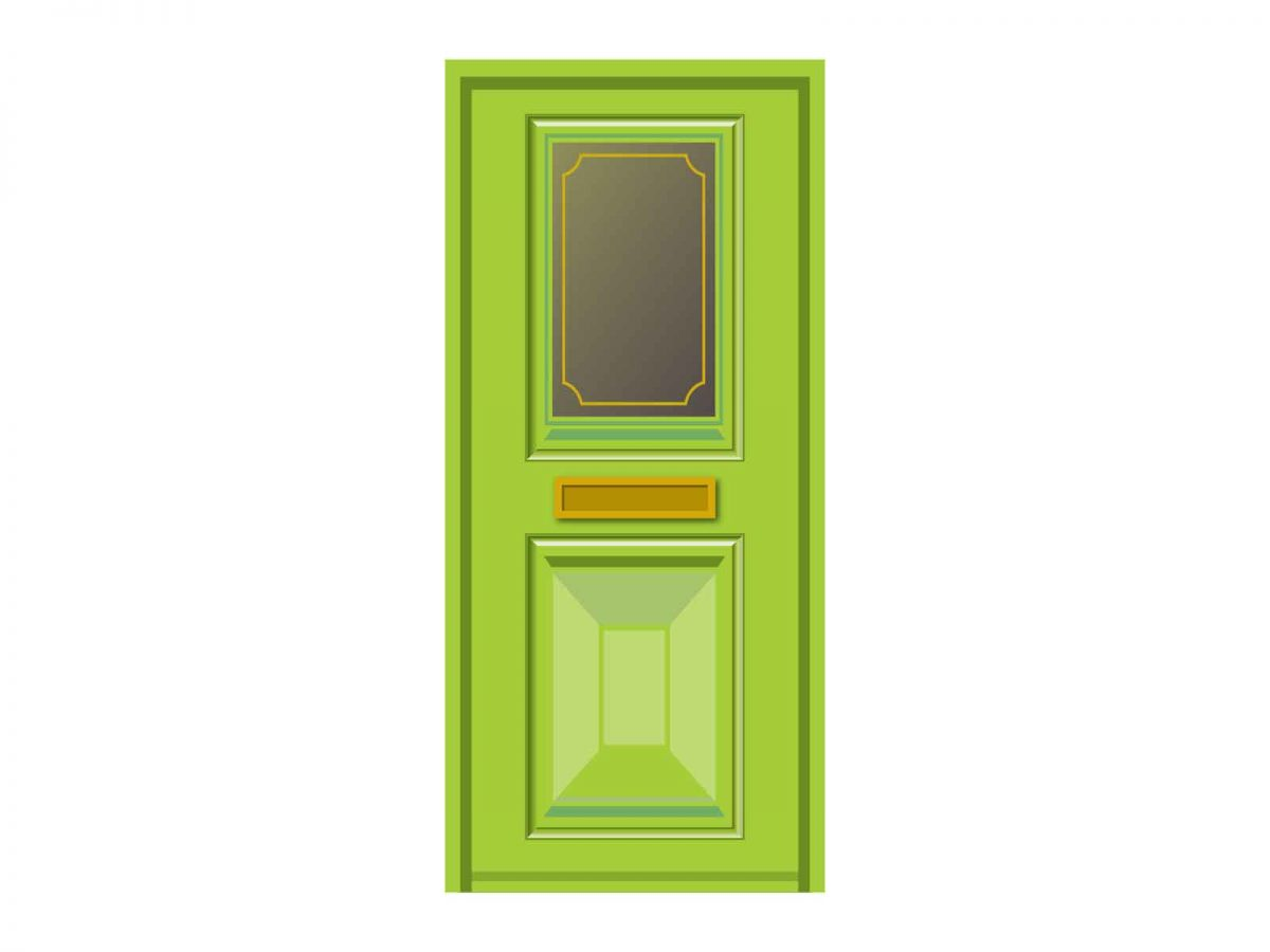 Retro Dementia Door Wrap