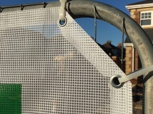 PVC AirMesh Heras Fence Cover