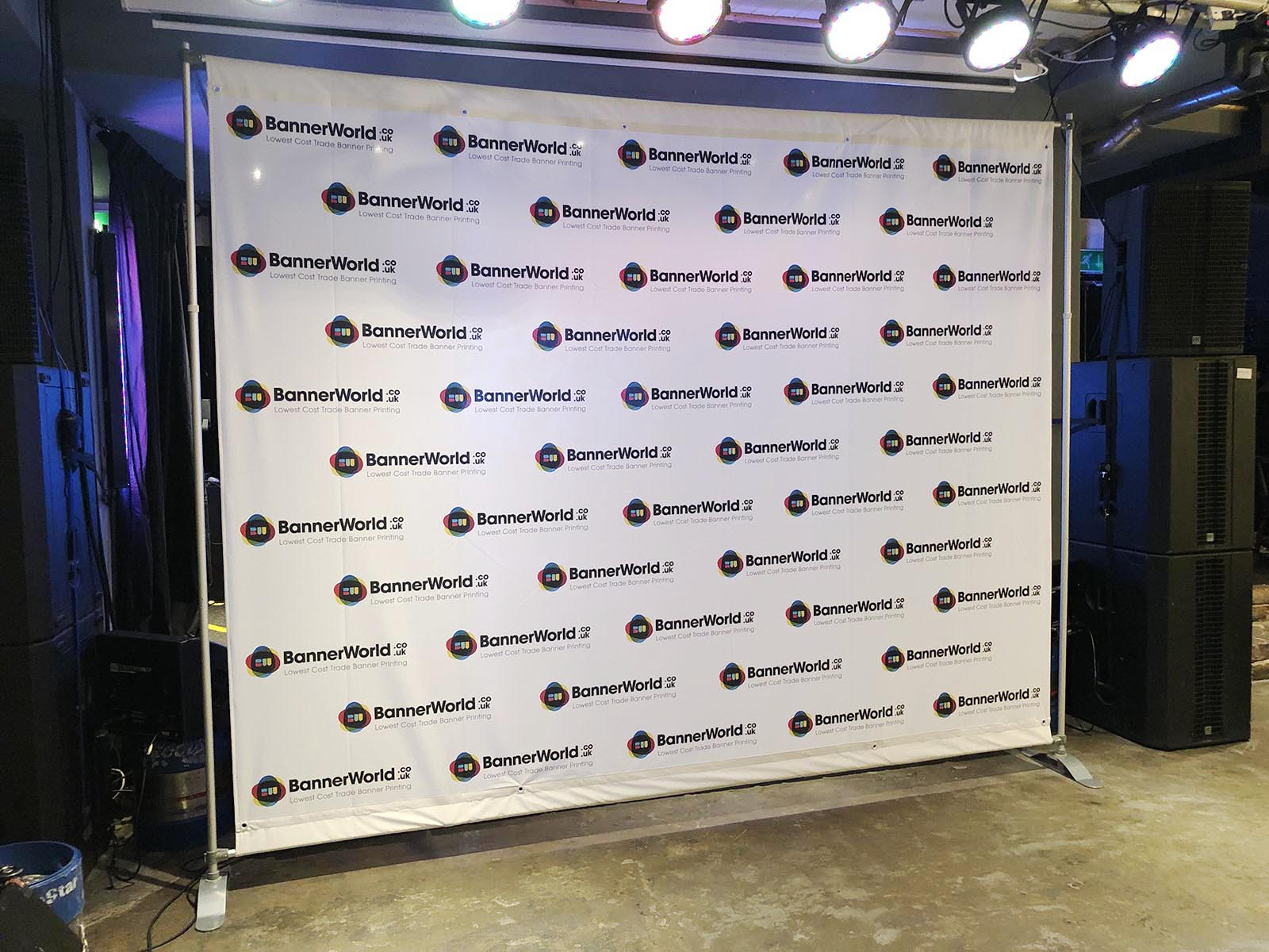 Backdrop Stand Maxi 3m X 2m Stand With Custom Printed