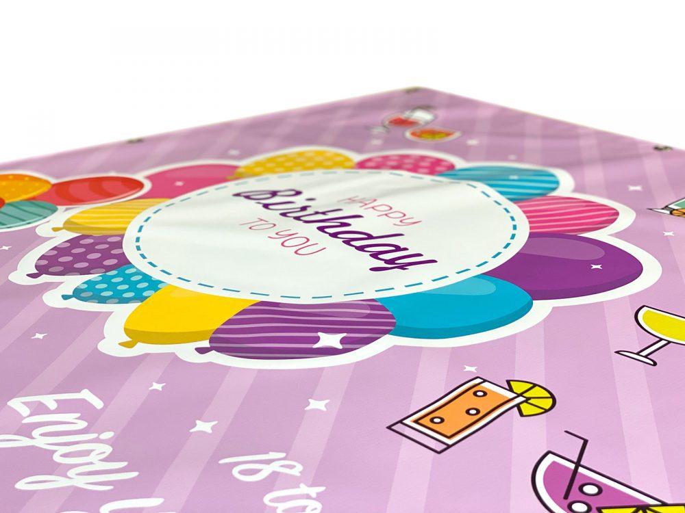 Personalised Birthday Banner