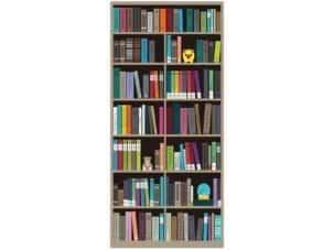 Bookcase Hidden Door Wrap