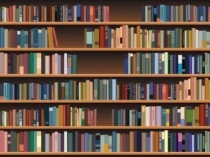 Bookcase Dementia Mural