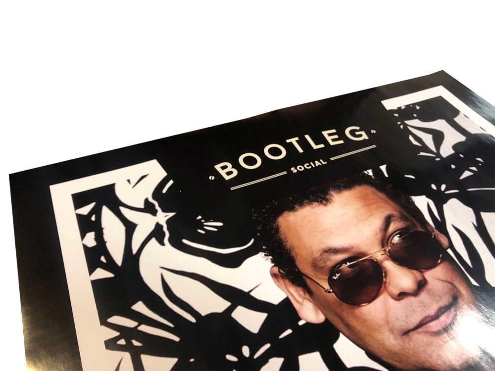 Vinyl poster printing
