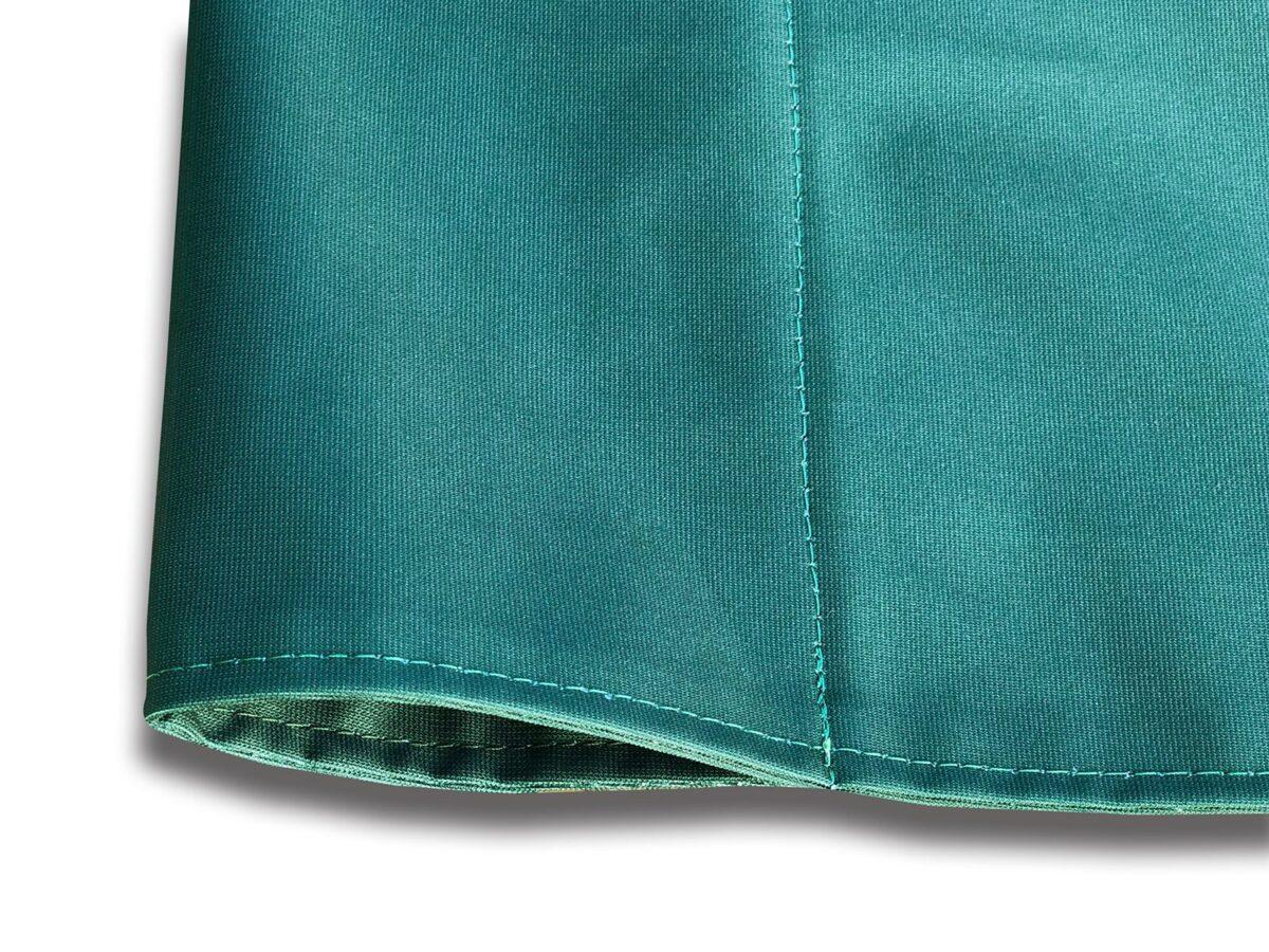 Close up of banner pocket