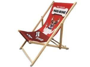 Custom Printed Branded Deckchair