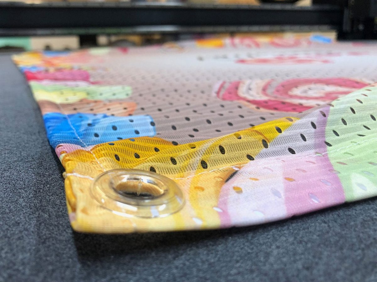 air mesh dye sublimation printing