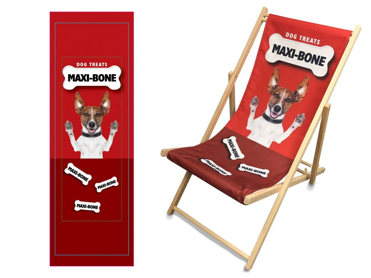 Promotional Event Deckchair