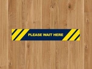 Social Distancing Floor Strips