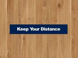 Floor Strip Social Distancing