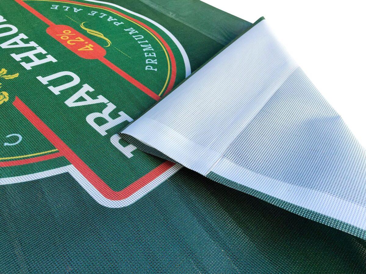 Cafe Banner Mesh