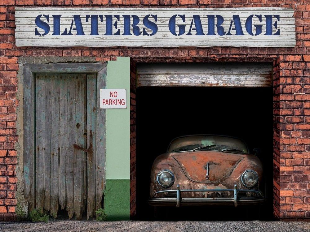 Dementia Garage Wall Mural