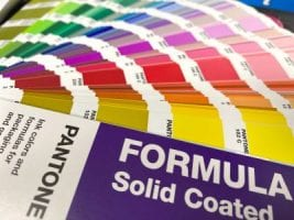How can you match to a pantone colour chart