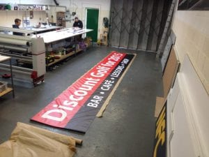 Packing banners