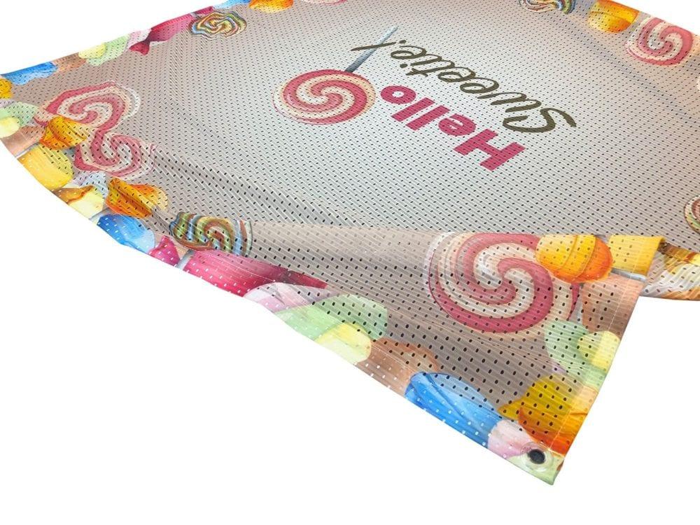 airmesh polyester printing