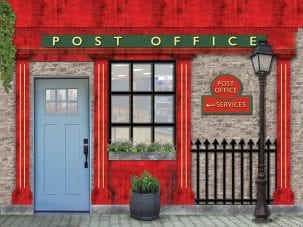 Post office dementia wallpaper