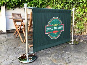 Premium Cafe Barrier System for Brau Hausen
