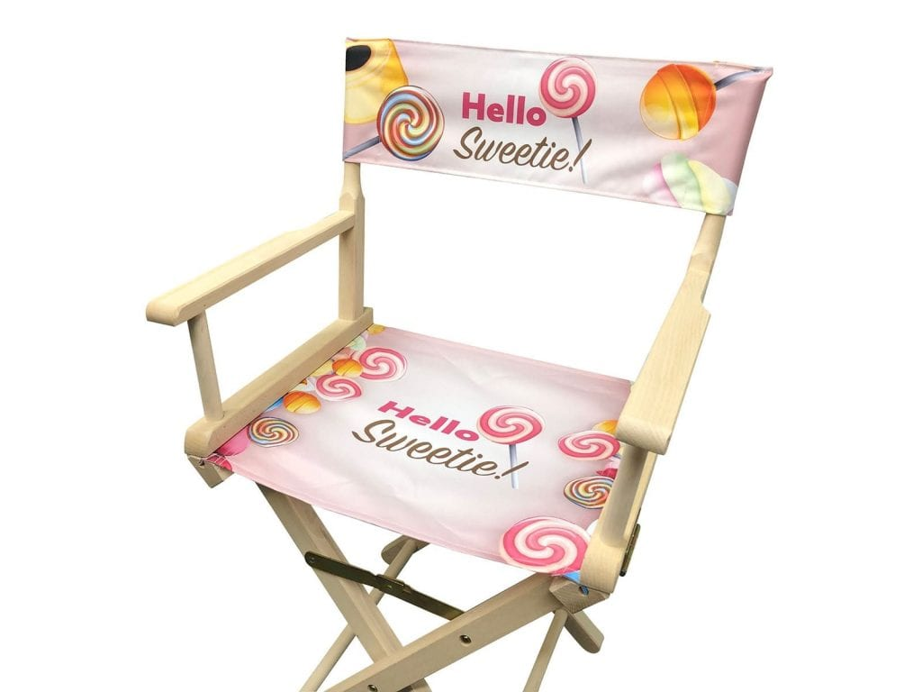 Printed Event Directors Chair